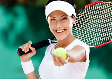 The best tennis players have a good level in all these different areas: speed and agility, endurance, explosive power, flexibility